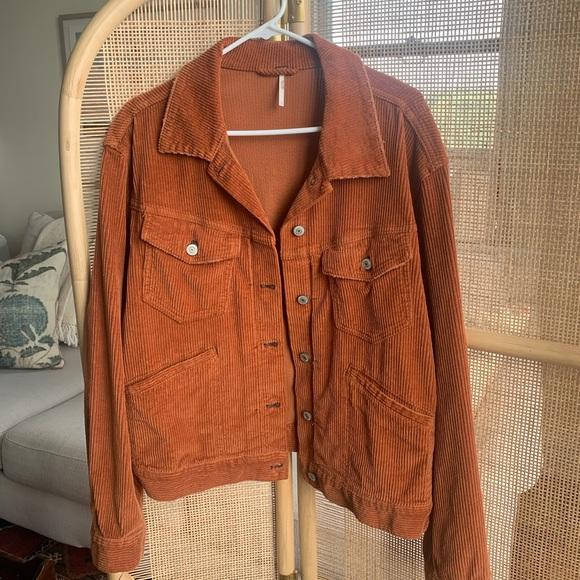 Free People Corduroy Jacket - Size L